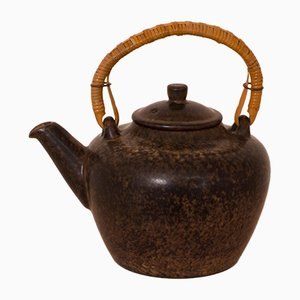Mid-Century Glazed Stoneware Teapot by Marianne Starck for Michael Andersen and Sons, 1960s