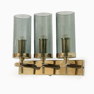 Large Norwegian Wall Light in Brass by Bison, 1960s