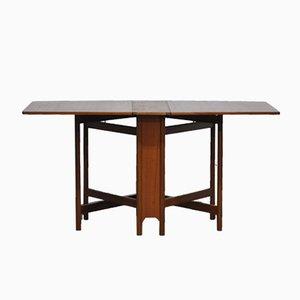 Tavolo da pranzo pieghevole Mid-Century di McIntosh, anni '70