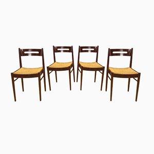 Chaises par Dal Vera, 1950s, Set de 4