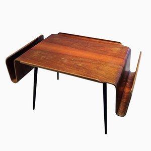 Table Basse par Carlo Ratti pour Industria Legni Curvati, 1957