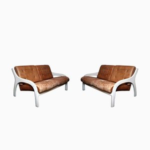 Vivalda Sofas by Claudio Salocchi for Sormani, 1960s, Set of 2