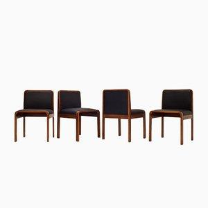Italienische Vintage Stühle von Cinova, 1970er, 4er Set