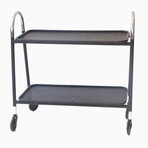 Metal Serving Trolley, 1950s