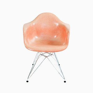 Salmon DAR Armchair by Charles & Raye Eames for Zenith Plastics, 1953