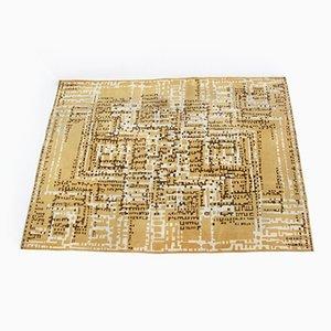 Moderner Teppich mit Geometrischem Design, 1960er