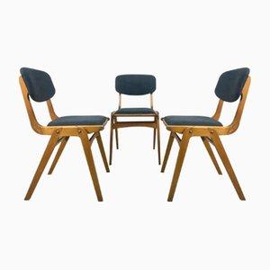 Mid-Century Bumerang Stühle von Gościnnia Fabryki Mebli, 1960er, 3er Set