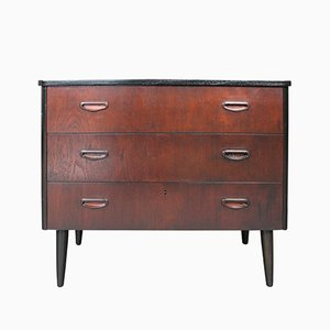 Mid-Century Chest of Drawers in Teak