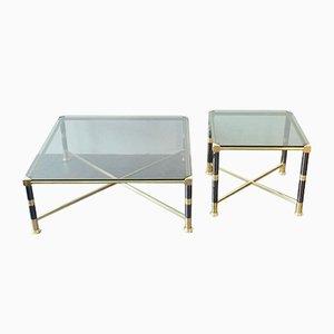 Tavolini in stile Hollywood Regency, anni '70