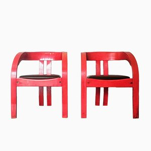 Elisa Armchairs by Giovanni Bassi for Poltronova, 1960s, Set of 2