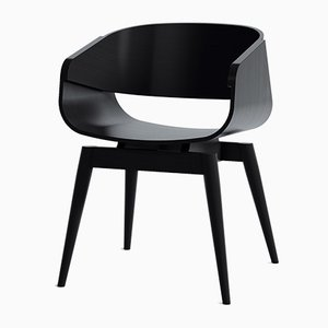 Fauteuil 4th Armchair Color en Noir par Almost