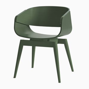 4th Armchair Color in Green by Almost