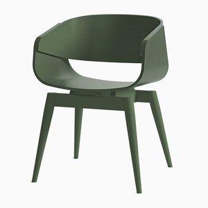 Sedia 4th Armchair Color verde di Almost