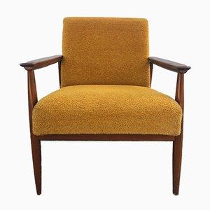 Italian Yellow Armchair, 1960s