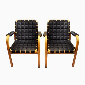 Model 46 Armchairs by Alvar Aalto for Artek, 1947, Set of 2