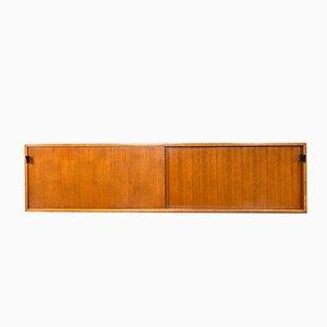 Nr. 123 Mobiletto da parete di Florence Knoll Bassett per Knoll Inc, anni '50