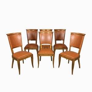 Chaises de Salon, 1960s, Set de 6