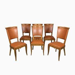 Chaises de Salon, 1960s, Set de 6