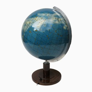 Light-Up Globe from Columbus Verlag Paul Oestergaard K.G., 1950s