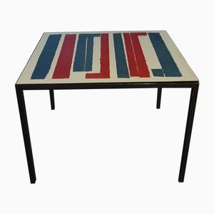 German Coffee Table with Two Tops by Werner Weißbrodt, 1960s