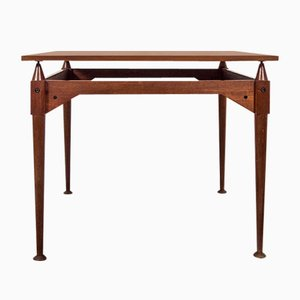 TL3 Teak Square Table by Franco Albini for Poggi, 1960s