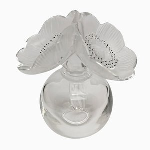 Crystal Perfume Bottle by René Lalique for Lalique, 1989