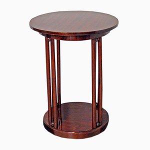 Table 728 Fledermaus Art Nouveau en Bois Courbé par Josef Hoffmann pour Jacob & Josef Kohn, 1910s