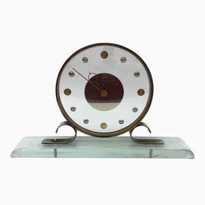 Orologio da tavolo Mid-Century moderno di Venini