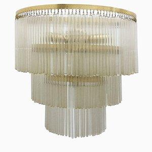 Italienische Mid-Century Wandlampe, 1950er