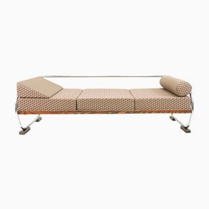 Bauhaus Daybed Sofa in 3D-Fabric from Gottwald, 1930s