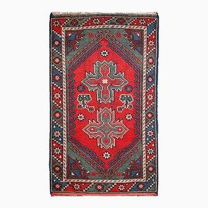 Handgemachter Antiker Türkisch Anatolischer Teppich, 1920er