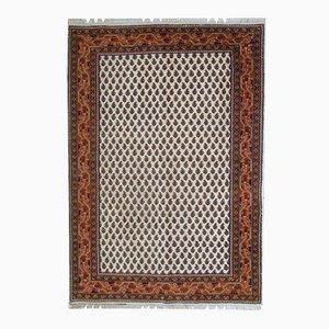 Vintage Handmade Indian Seraband Rug, 1980s