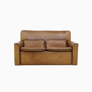 2-Seater Sofa from LeoLux in Neck Leather, 1970s