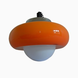 Mid-Century Pendant Lamp by Harvey Guzzini for Meblo, 1973
