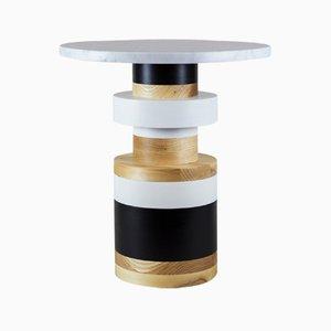 """Sass Side Table Medium mit 16"""" Marmor Tischplatte von MPGMB für Souda"""