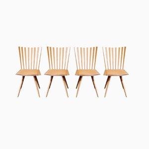 Chaises de Salon Mikado par Foersom & Hiort-Lorenzen pour Fredericia, 1999, Set de 4