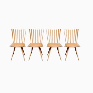 Mikado Dining Chairs by Foersom & Hiort-Lorenzen for Fredericia, 1999, Set of 4