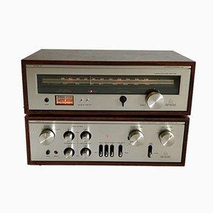 Amplificateur L30 et Tourneur T34 de Luxman, 1970s