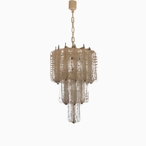 Italian Chandelier by Toni Zuccheri for Venini, 1970s