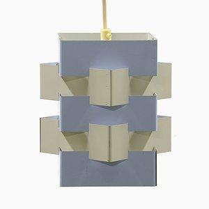 Lampe à Suspension Mid-Century par J.J.M. Hoogervorst pour Anvia, Pays-Bas, 1960s