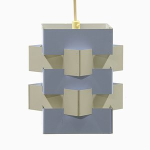 Mid-Century Dutch Pendant Light by J.J.M. Hoogervorst for Anvia, 1960s