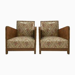 Chaise Style Art Déco, 1970s, Set de 2