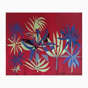 Brasilianischer Wandteppich Tapestry von Genaro de Carvalho, 1960er