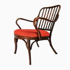 No. 752 Armlehnstuhl von Josef Frank für Thonet, 1920er
