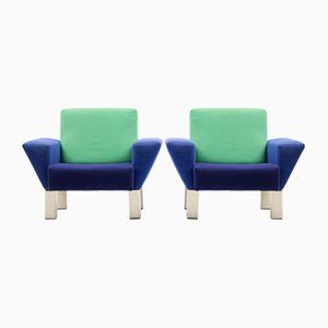 Fauteuils Westside par Ettore Sottsass pour Knoll International, 1982, Set de 2