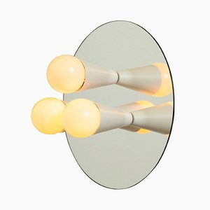 Echo 3 Sconce in White by Shaun Kasperbauer for Souda