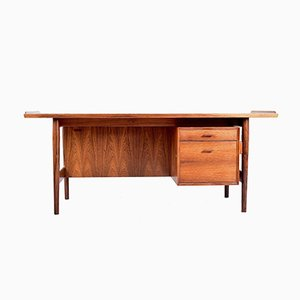 Vintage Schreibtisch aus Rio Palisander von Arne Vodder für Sibast