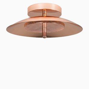Lampada da parete o soffitto Signal in ottone di Shaun Kasperbauer per Souda