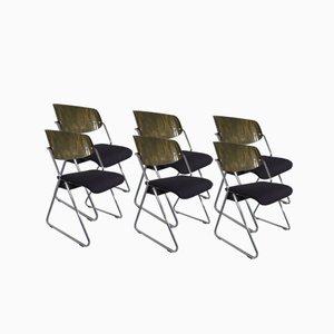 Chaises d'Appoint par Georg Leowald pour Wilkhahn, 1960s, Set de 6
