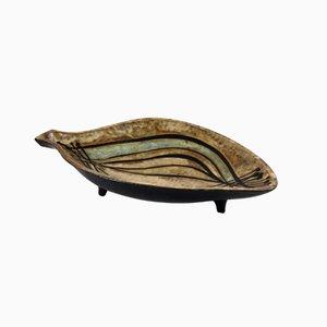 Cuenco biomórfico de Rogier Vandeweghe para Amphora, años 60